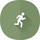 quit, signout, exit, logout, close, shadow, user icon