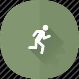 close, exit, logout, quit, shadow, signout, user icon