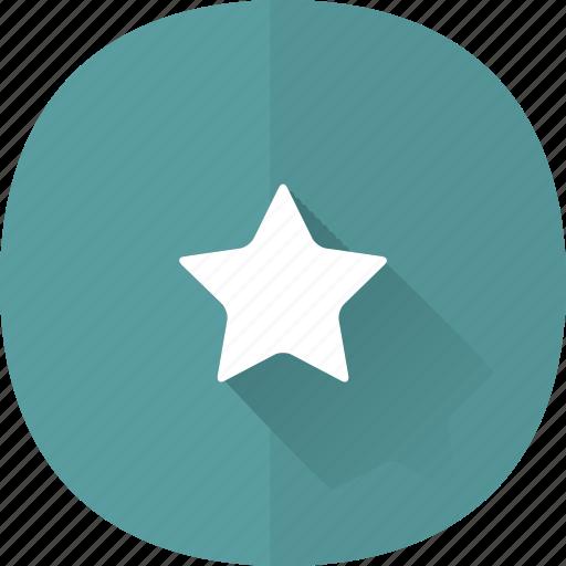 award, quality, shadow, star icon