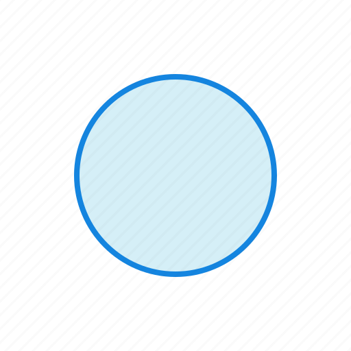 circle, geometry, round, shape, shapes icon