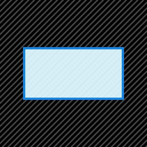 geometry, rectangle, shape, shapes icon