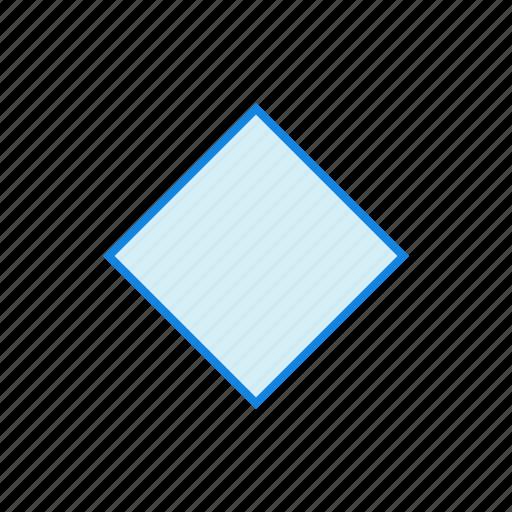 diamond, geometry, shape, shapes, square icon
