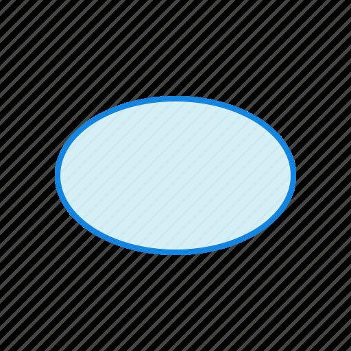 geometry, oval, shape, shapes icon