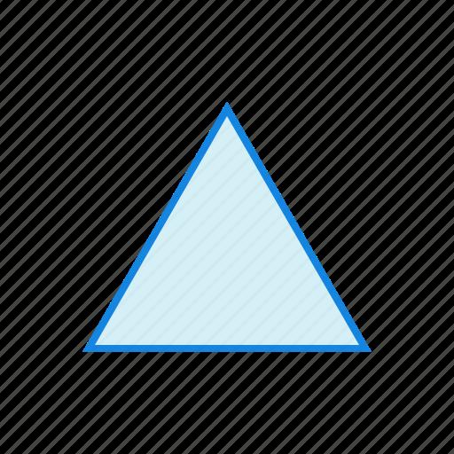 geometry, shape, shapes, triangle icon