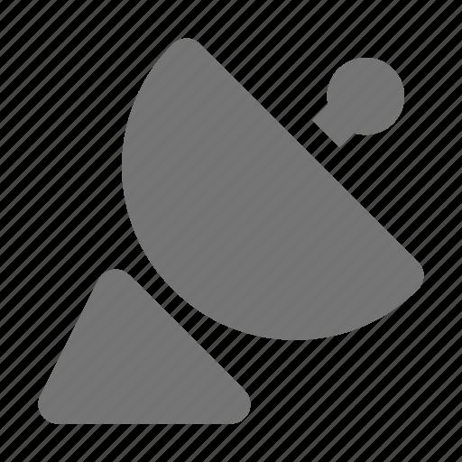 radar, satellite dish icon