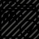 accept, folder, outline, shared