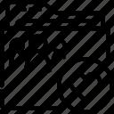 folder, like, outline, shared