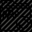 folder, outline, refresh, shared