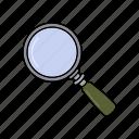 holmes, magnifier, sherlock, tool icon icon