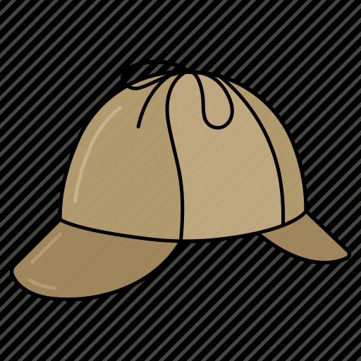 detective icon, hat, holmes, sherlock icon