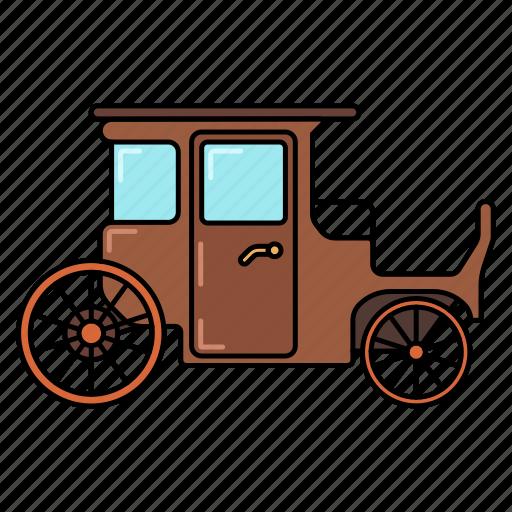 carriage, coach, coach icon, truck icon icon