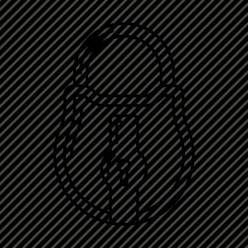 closed, iron, key, lock, metal icon