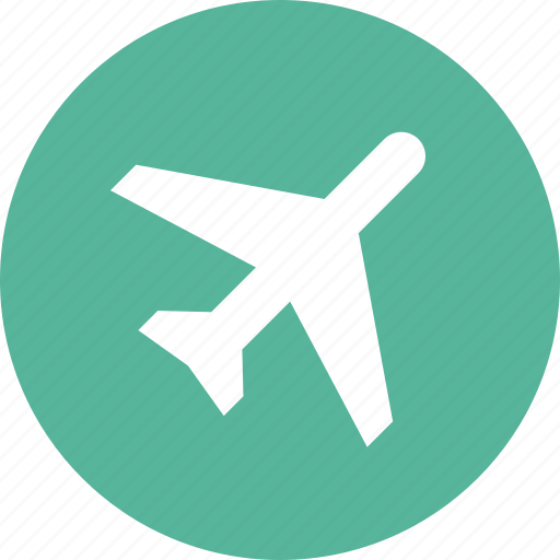 airplane, airport, flight, jet, plane, transportation, travel icon