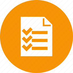 checklist, list, packing, survey, tasks, to-do icon