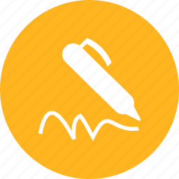 agreement, autigrapg, pen, sign, signature, writing icon