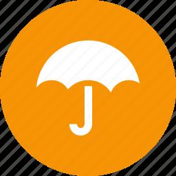parasol, protection, rain, shield, umbrella, weather icon
