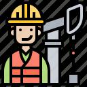 engineer, mechanic, petroleum, technician, worker