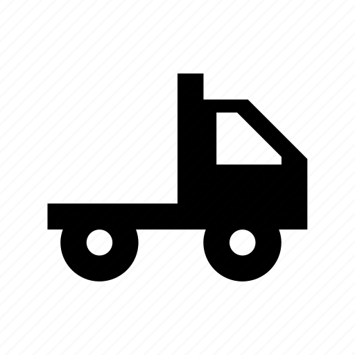 cargo truck, lorry, pickup truck, shipping truck, tipper truck icon
