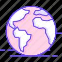 atlas, earth, globe, world icon