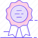 badge, honor, label, medal icon