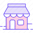 business, department store, shop, store icon