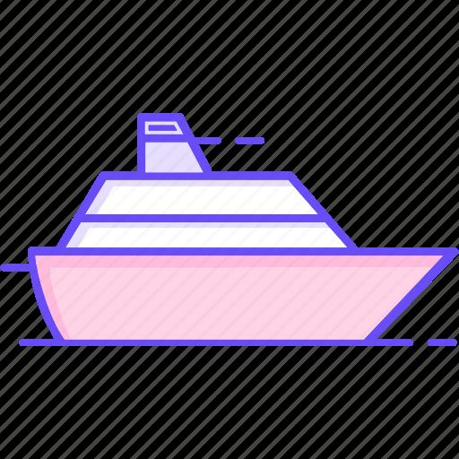 boat, cruise, shipping, yacht icon