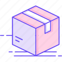 box, case, delivery, package icon