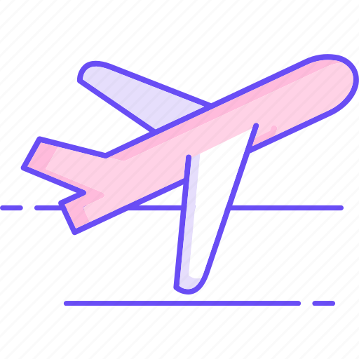 aircraft, airplane, delivery, plane icon