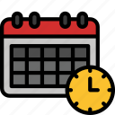 calander, date, delivery, schedule, shipping, time icon