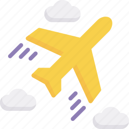 air, airplane, delivery, express, freight, logistics, shipping icon