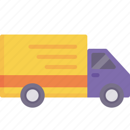 delivery, freight, logistics, shipping, truck, vehicle icon