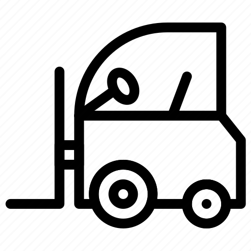 delivery, forklift, fulfillment, shipping, truck icon
