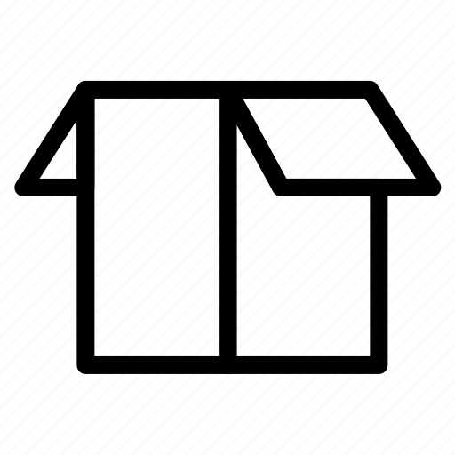 box, delivery, open, package, shipment icon