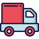 delivery, logistics, parcel, shipping, truck icon