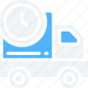 delivery, logistics, shipping, timed, truck