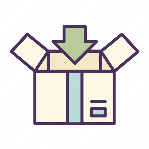 add, box, delivery, package, packing, shipment, shipping icon