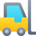 delivery, forklift, logistics, shipping, warehouse