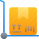 deliver, delivery, logistics, package, parcel, shipping icon