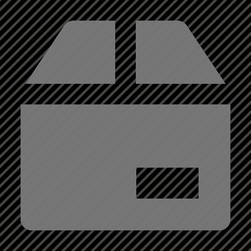box, label icon