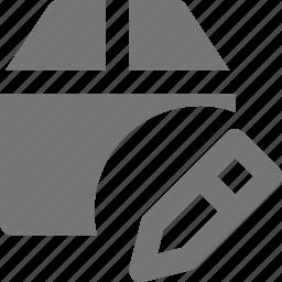 box, edit, pen icon