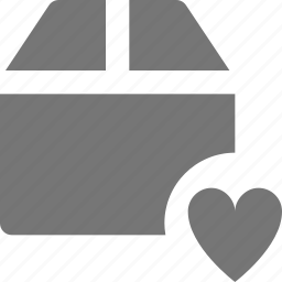 box, favorite, heart, like icon