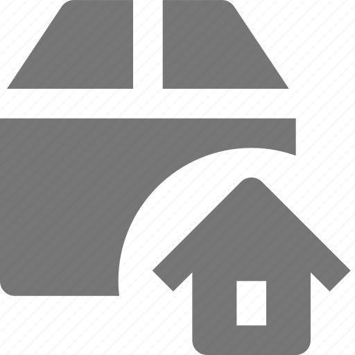 box, home, house icon