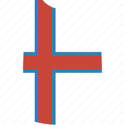 country, faroe, flag, islands, nation, shirt, the icon