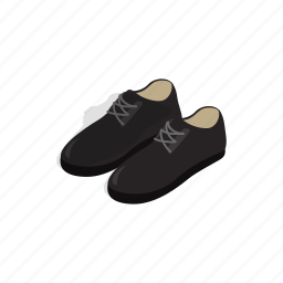 boot, fashion, foot, isometric, leather, male, shoe icon
