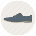 foot, footware, footwear, man, man shoe, shoe, shoes icon