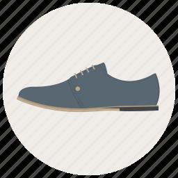 foot, footware, footwear, man, man shoe, shoe, shoes icon