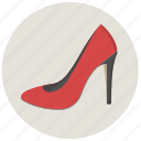 clothes, girl, heels, lady, shoe, shoes, woman icon
