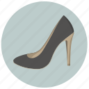 apparel, classic, classic style, fashion, shoes, woman, women's shoes icon