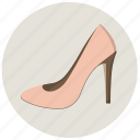 female, girl, heels, high heels, platform, shoes, woman icon