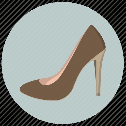 clothing, female, platform, pumps, shoes, vintage, woman icon